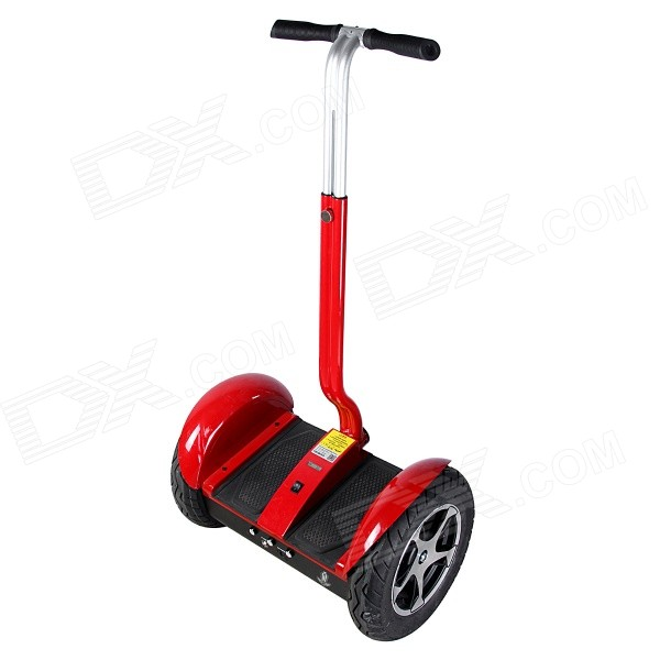 Dikalen S555 Electric Two Wheels Self-Balancing Control Bike Scooter - Red two rounds electric scooter pure power and power mode trottinette electrique adulte collapsible 4 inches pneumatic tire
