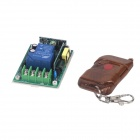ZnDiy-BRY RF DC220V 1-CH Remote Control Switch + Single Key Push Cover Remote Control