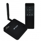 Brilink Q8F Quad-Core Full HD Android 4.4 Google TV Player w/ AM06B Audio Air Mouse, EU Plug - Black