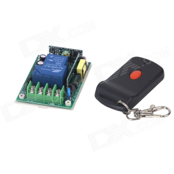 ZnDiy-BRY 220V 1-CH Remote Control Switch + Butterfly Single Button Remote Controller smart home ac 220v 1ch relay wireless remote control switch remote control on off radio light switch 10a receiver transmitter