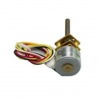 15BY Full Metal 2-Phase 4-Wire Micro Gear Motor w/ M3 Threaded Shaft