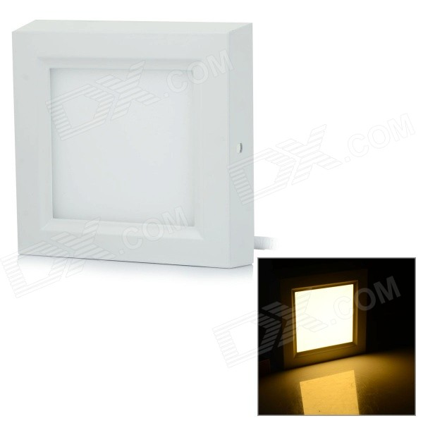 D-L020 20W 1620lm 3000K 90-SMD 2835 LED Warm White Ceiling Panel Light - White (AC 85~265V) kinfire m 18ww 18w 1610lm 3000k 90 smd 3528 led warm white ceiling lamp white ac 85 265v