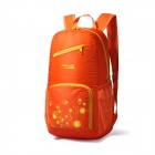 Makino Lightweight Water-resistant Foldable Outdoor Hiking Nylon Backpack - Orange (22L)