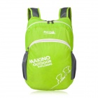 Makino 5507 Lightweight Water-resistant Foldable Outdoor Hiking Nylon Backpack - Grass Green (22L)