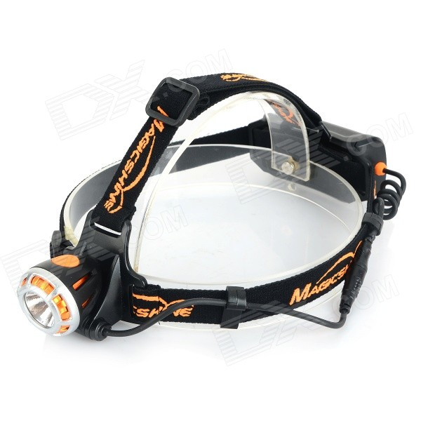 MAGICSHINE 260lm 3-Mode White Light LED Headlamp - Black (1 x 18650)