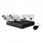 VOLS VS-4032CS 4CH 960H DVR Security System w/ 500GB HDD, 4 x 1000TVL Night Vision Cameras (US Plug)