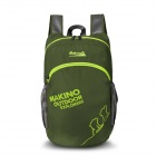 Makino 5507 Lightweight Water-resistant Foldable Outdoor Hiking Nylon Backpack - Army Green (22L)