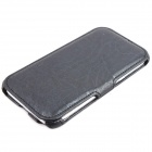 ZQ-074 Protective PU Leather Case for Samsung Galaxy Note 2 N7100 - Black