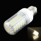 HZLED E27 15W LED Warm White Corn Lamp - White (AC 220~240V)