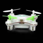 wltoys V676 r / c UFO helikopter fly m / 6-Axis gyro - hvit