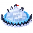 NEJE Funny Penguin Pile-up Balancing Educational Game Toy - White + Blue + Black