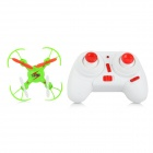 WLtoys V646 2.4GHz 4-CH Outdoor R/C Mini Quadcopter w/ Gyro / Lamp - Green