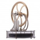 NEJE JS0014-1 DIY Low Temperature Stirling Engine - Antique Brass