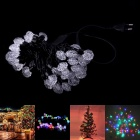 220V 12W RGB 50-LED Diamond Style Dekorative Weihnachten Light Strip (500cm / EU-Stecker)