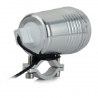 JRLED Waterproof 10W Cold White Light 3-Mode LED Spotlight - Silver