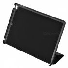 Protective PU + PC Case w/ Stand for IPAD AIR 2 - Black