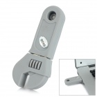 Mini Artificial Wrench Style USB 2.0 Flash Drive - Grey (64GB)