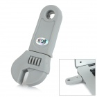 Mini Artificial Wrench Style USB 2.0 Flash Drive - Grey (8GB)