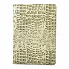 WB-A005 Alligator Skin Pattern Protective PU Leather Case w/ Stand for IPAD AIR 2 - Grey