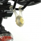 LED RGB 3-Mode Front + Rear Bicycle Quick Installation Decorative Lamps (2 PCS)
