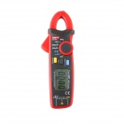 "UNI-T UT211A 1.86"" LCD 60A True RMS Mini Clamp Multimeter - Deep Grey + Red"