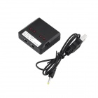 1S Lithium Battery Balanced Charger for Quadrocopter - Black