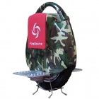 Fine Source FS-05 Zebra Pattern Electric Balancing Unicycle Wheelbarrow Monocycle - Camouflage