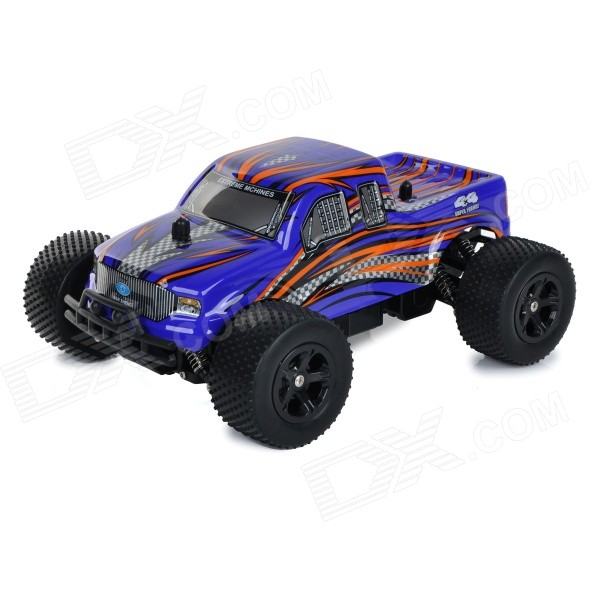 ShenNan 8804G 1:16 3.5-CH 2.4GHz High-Speed Remote Control Off-Load Vehicle Model Toy - Black + Blue