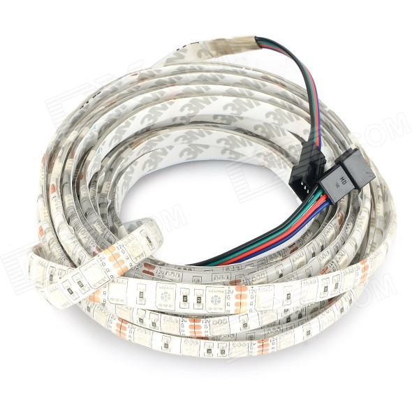 Waterproof 72W 3500lm 300-SMD 5050 LED RGB Light Strip (DC 12~24V)