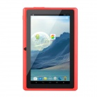 "7.0"" TFT Dual-Core Android 4.4 Tablet PC w/ 4GB ROM, Dual-Camera, TF - Black + Red"