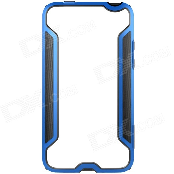 NILLKIN Protective TPU + PC Bumper Frame Case for MEIZU MX4 - Blue + Black