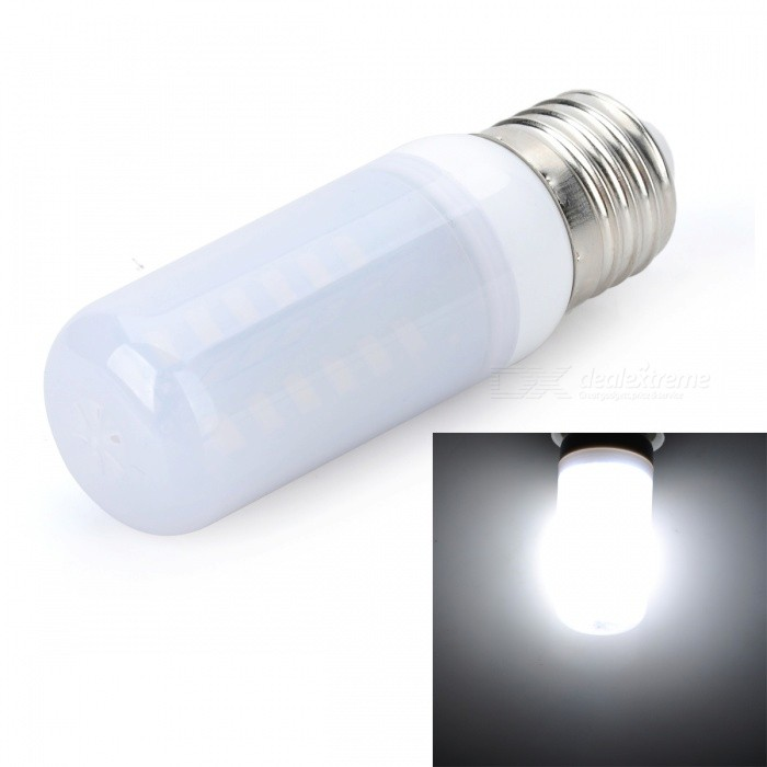 Marsing E27 10W LED Cold White Light Bulb - White (AC 220~240V)