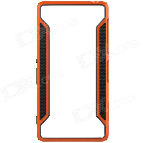 NILLKIN Protective TPU + PC Bumper Frame Case for Sony Xperia Z3 - Orange + Black