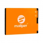 Mallper MP-4D Replacement 3.7V 930mAh Li-ion Battery for Nokia N97 Mini / E5 / E7 / N8 - Orange
