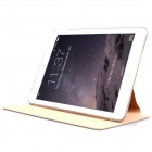 Mr.northjoe protection en cuir PU + PC Case w / Stand / mise en veille automatique pour l'IPAD AIR 2 - Golden