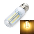 Marsing E27 Cross Design 8W 800lm 3500K 48-SMD 5730 LED Warm White Light Bulb Lamp (AC220~240V)
