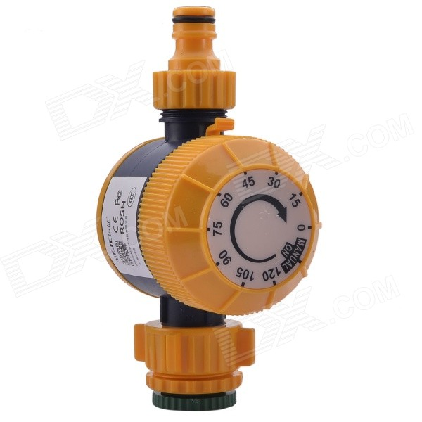 NEJE ZJ0025-4 Automatic Mechanical Water Timer Garden Hose Sprinkler Irrigation Controller - Orange free shipping 10pcs max4518csd