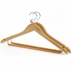 Stilvolle Solide Maple Arc Stil Hanger - Holz Farbe