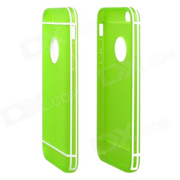 ENKAY Protective TPU + Plastic Back Case Cover for 4.7 IPHONE 6 - Green мультиварка supra mcs 4703 900вт 4л белый