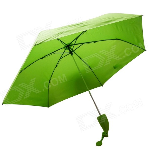 NEJE ZJ0039-2 Novelty Banana Style Umbrella - Green