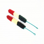 Handy Fine Fiber Clarinet Brushes - Sapphire Blue + Red (2 PCS)