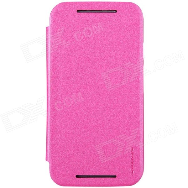 NILLKIN Star Series Protective Case for MOTO G2 - Pink nillkin star series protective case for moto g2 pink