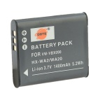 DSTE 3.7V 1400mAh VW-VBX090 Battery for Panasonic HX-WA20 / WA2 / WA30 / WA2GK - Grey