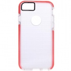 "NILLKIN BOSIMIA Series Protective Silicone Back Cover Case for IPHONE 6 4.7"" - Red + Transparent"