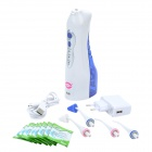 YASI FL-V8-X1 3-Mode 360 Degree Rotation Rechargeable Electric Nasal + Oral Irrigator - White + Blue
