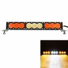 "MZ 17"" 90W 7200LM 6000K LED White + Yellow Beam Worklight Bar Offroad 4WD Driving Lamp"