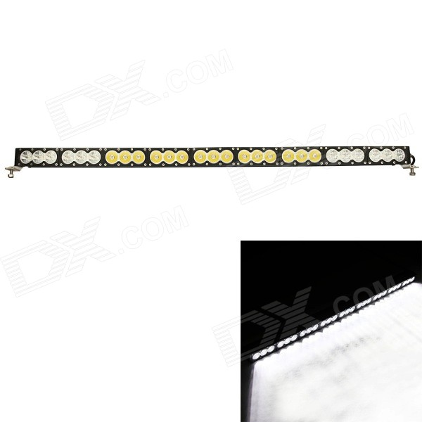 MZ 270W 21600LM 6000K LED White Spot + Flood Beam Worklight Bar Offroad 4WD SUV Driving Lamp  mz 41 260w 20800lm 6000k 26 led flood spot beam worklight bar offroad 4wd suv driving lamp