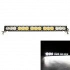 MZ 150W 12000LM 6000K LED White Spot + Flood Beam Worklight Bar Offroad 4WD SUV Driving Lamp