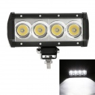 "MZ 7.32"" 40W 3200LM 6000K White Spot Beam LED Worklight Bar Offroad SUV Driving Lamp / Side Light"