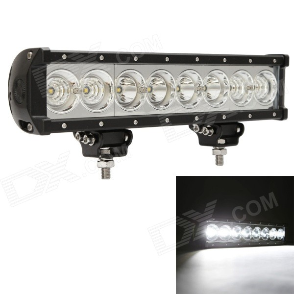 MZ 13.46 80W 6400LM 6000K LED Worklight Bar White Spot + Flood Beam Offroad 4WD SUV Driving Lamp